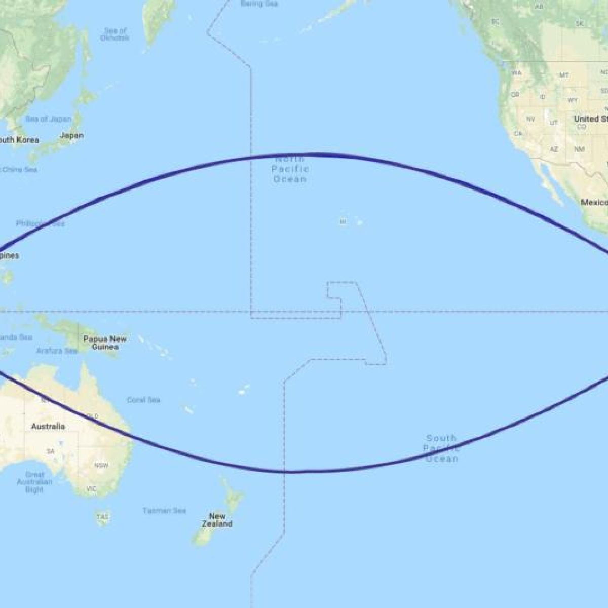 Imagine two cities on the equator whats the quickest route between imagine two cities on the equator whats the quickest route between them ccuart Choice Image