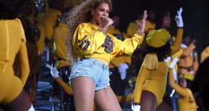 Beyonce Knowles' performance at Coachella Valley Music And Arts Festival in California on Saturday has been described by The New York Times as the most 'meaningful, absorbing, forceful and radical performance by an American musician this year'. Photograph: Larry Busacca/Getty Images for Coachella