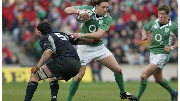 "Neil Best in action for Ireland in 2007. He said he could not remember a time when Ulster Rugby had been ""so at odds with so many of their supporters"". File photograph: Alan Betson"