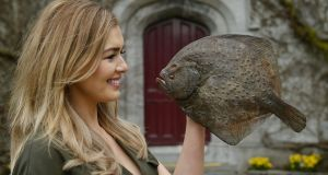 TG4 weather presenter Cáitlín Nic Aoidh at the launch of touRRoir18, which takes place in  Galway next week. Photograph: Andrew Downes