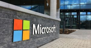 Microsoft: A key finding of the survey was a lot of companies weren't focused on the cultural impact of technology.  Photograph: Bryan O'Brien