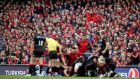 Munster hosted Saracens in Dublin and Clermont were at home to Leinster in Lyon in last year's Champion Cup semi-finals, when more than 91,000 attended the two games. Photograph: Dan Sheridan/Inpho