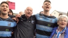 Shannon RFC celebrate promotion with rousing rendition of 'There is an Isle'