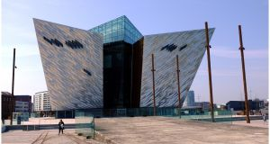 The Titanic Experience in Belfast. Photograph: Bryan O'Brien/The Irish Times