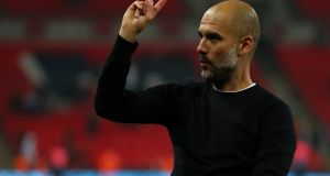Pep Guardiola is routinely venerated as the best manager of his generation. Photograph: Getty Images