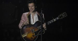 Harry Styles: 'Like  a chatty barman.' Photograph: Gareth Cattermole/Getty Images