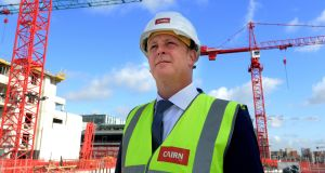 Cairn Homes chief executive Michael Stanley, who is set to benefit from the company's multi-million euro founder share scheme. Photograph: Cyril Byrne / THE IRISH TIMES