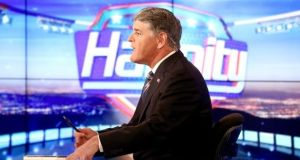 Fox News presenter Sean Hannity. Photograph: Getty Images