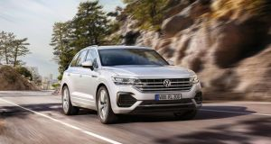 Volkswagen Touareg: driving into the future