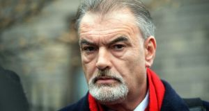 Ian Bailey leaving the High Court in Dublin in 2015. Photograph: Eric Luke/The Irish Times