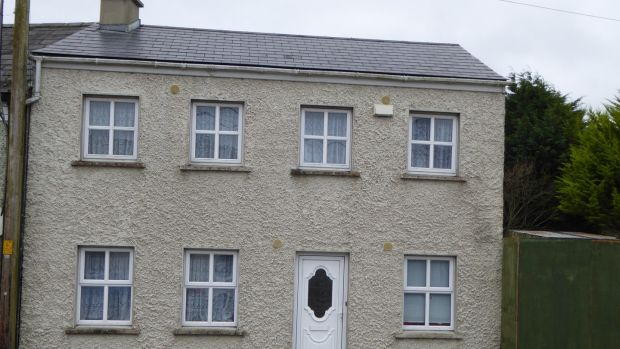 Main Street, Donard This four-bed, B2-rated end-of-terrace property was rebuilt in 2007 and is asking €195,000 through Nugent Auctioneers.