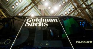 Goldman's trading desk benefited from increased volatility because of concerns around rising inflation and a potential trade war. Photograph: Reuters
