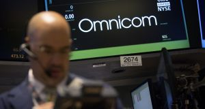 Omnicom said total revenue rose 1.2 per cent to $3.63 billion in the first quarter. Photograph: Scott Eells/Bloomberg via Getty Images