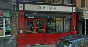 Opium closed for a number of months last year for a large refurbishment. Photograph: Google Maps