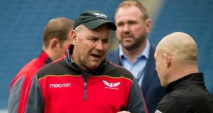 Scarlets head coach Wayne Pivac has said he has no problem with the venue for their Champions Cup semi-final against Leinster. Photo: Craig Watson/Inpho