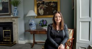 At home with Sara Cosgrove on Northumberland Avenue, Dún Laoghaire in Dublin. Photograph: Brenda Fitzsimons/The Irish Times