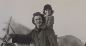 Mary Rose Callaghan and her mother.
