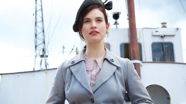 Smash hit? Lily James in The Guernsey Literary and Potato Peel Pie Society