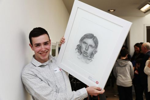 EVAN KEARNEY: Evan Kearney (18), from Bray, Co Wicklow, has won second prize (€1,000) in Category A for his portrait work. Photograph: Mac Innes Photography