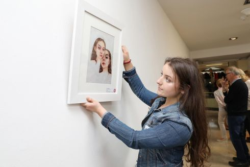 JEAN O'RIORDAN: Jean O'Riordan (15), from Model Farm Road, Co Cork, won third prize (€250) in Category B (14-15 years) for her detailed piece entitled Mirrored. Photograph: Mac Innes Photography
