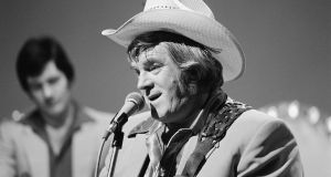 Big Tom performing on Country Star Time in 1980. Photograph: RTÉ