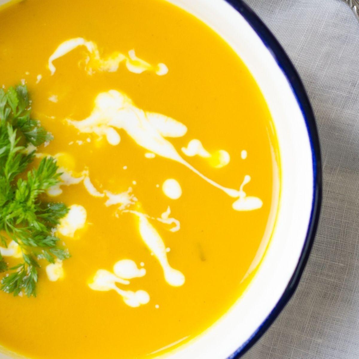 High-calorie, high-protein soup: Making