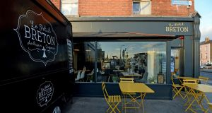 Le Petit Breton creperie at 1a Drumcondra Road. Photograph: Cyril Byrne