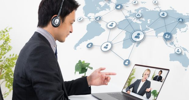 In today's workplace, virtually all teams are virtual. Photograph: iStock