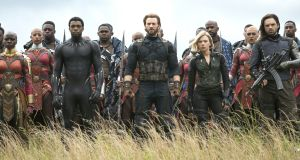 Avengers: Infinity War: the team behind the film has gone to great lengths to guard the story prior to its release this week. Photograph: Marvel Studios Photograph: Marvel Studios