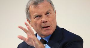 Martin Sorrell, the chief executive of the world's largest advertising agency WPP, who has stepped down following allegations of personal misconduct through the misuse of company assets. Photograph: Jonathan Brady/PA Wire