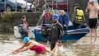 Urban swimming: something stirring in the Shannon water