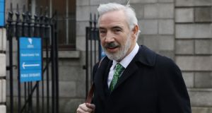Under cross-examination, Séan Dunne accepted he had dealt with assets belonging to his wife based in the UK, the US and South Africa, but not in the Republic. Photograph: Collins Courts