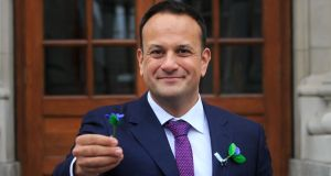 The sense that Leo Varadkar's popularity could be the catalyst for a paradigm shift in Ireland's post-crash politics is waning. Photograph: Gareth Chaney/Collins