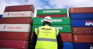 Stress test: the Republic's export-led economy is a perfect candidate. Photograph: Aidan Crawley/Bloomberg