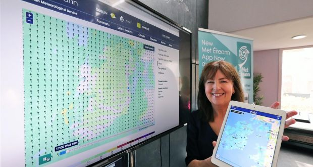 Met Éireann launches new app for our 'weather-obsessed' country