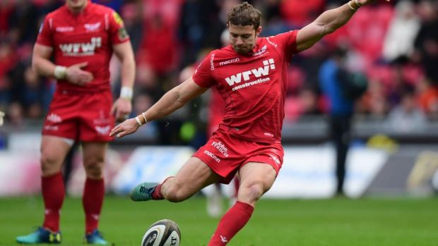 Leigh Halfpenny has an 88 per cent kick success rate in this season's Champions Cup. Photograph: Alex Davidson/Inpho