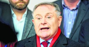 Labour leader Brendan Howlin: asked if the Government had decided whether or not the State should have a 'bespoke security agency'