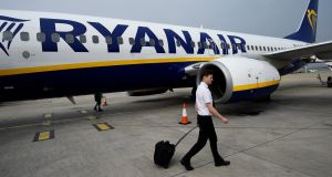 IALPA-Fórsa is seeking a basic deal whereby Ryanair acknowledges that it recognises it as the representative of pilots employed in the Republic. Photograph: Reuters