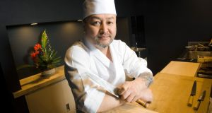 Japanese chef Takashi Miyazaki  at his new restaurant ichigo ichie in Cork city. Photograph: Daragh Mc Sweeney/Provision