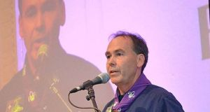 "Chief scout at Scouting Ireland Christy McCann: along with David Shalloo, chief commissioner for youth affairs, he is ""temporarily"" standing down."