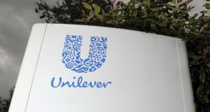 Unilever's reported turnover fell 5.2 per cent to €12.6 billion in the first quarter, hurt by currency exchange rates. Photograph: Tim Ireland/PA Wire