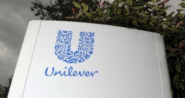 Unilever S Reported Turnover Fell 5 2 Per Cent To 12 6 Billion In The First Quarter