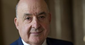Aindrias Ó Caoimh, former High Court and European Court of Justice judge, was one of 100 legal professionals who signed a letter opposing the repeal of the Eighth Amendment. Photograph: Dara Mac Dónaill / The Irish Times