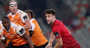 Munster's Conor Murray in action against Cheetahs in the Guinness PRO14 at Bloemfontein, South Africa on  April 13th. Photograph: Dan Sheridan/Inpho