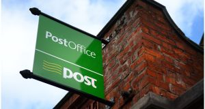 An Post: under new plan, all post offices will open during lunch time. Photograph: Bryan O'Brien