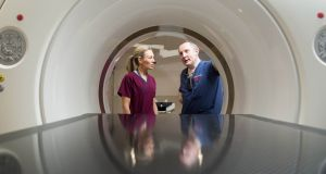 "CT scanner in the UHL: ""There has been a bit of a myth that building our new emergency department would alleviate overcrowding."" Photograph: Alan Place"