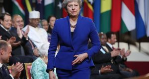 Britain's prime minister Theresa May has ruled out remaining in a customs union after Brexit, instead proposing two alternative models. Both of which were shot down by the EU, according to the report. Photograph: PA