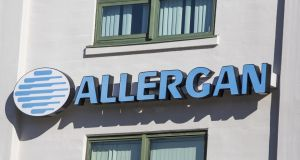 Allergan had about $30.1bn in debt and $6.45bn in cash at the end of the year