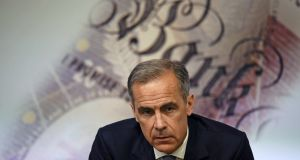 Mark Carney's comments followed weaker-than-forecast inflation data, a drop in retail sales and mixed labour-market figures.