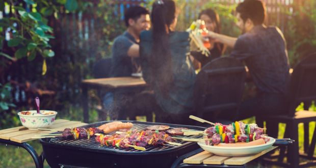 The sun is shining so it is time to light the barbecue and start cooking outdoors. Photograph: iStock.